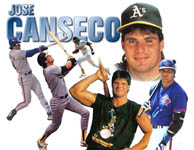 A Jose Canseco collage